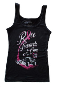 Black Pretty Dirty Race Towards a Cure Tank Top