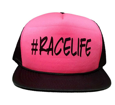 Hot Pink and Black #RACELIFE