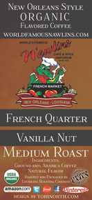 French Quarter Vanilla Nut from World Famous N'awlins Cafe & Spice Emporium