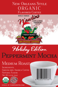 Peppermint Mocha New Orleans Style Coffee from World Famous N'awlins Cafe and Spice Emporium