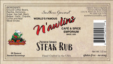 Southern Gourmet Premium Smoked Steak Rub