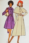 1970s Fab Cape Collar Coat Pattern Butterick 5953 Regular Collar or Coachman Coat  Style Mini or Midi Length Stunning  Design Bust 33.5 Vintage Sewing Pattern FACTORY FOLDED