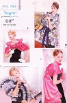 1950s Rare LUXURIOUS Day and Evening Caplets and Stoles Pattern VOGUE 9872 Four Stunning Designs One Size Vintage Sewing Pattern