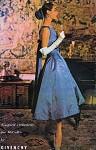50s RARE GIVENCHY McCalls 3788 Audrey Hepburn Cocktail Evening Dress Vintage Sewing Pattern Stunning Design Perfect As Wedding Dress