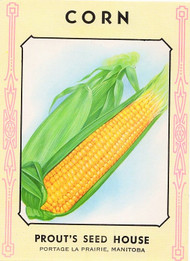 Corn Seed Packet