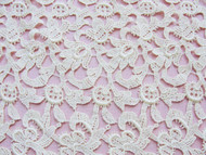 1930s VINTAGE LACE Fabric Salesmans Sample Perfect For Dolls, Hats, Bridal Weddings, Downton Abbey Gatsby Era