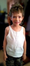 Children's Linen undershirt