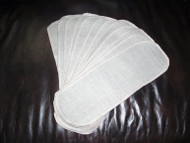 Diaper Shields - Linen Liners are a triple-layered insert of 100% Linen