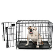 medium heavy duty dog crate