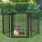 Outdoor super wide pet pen