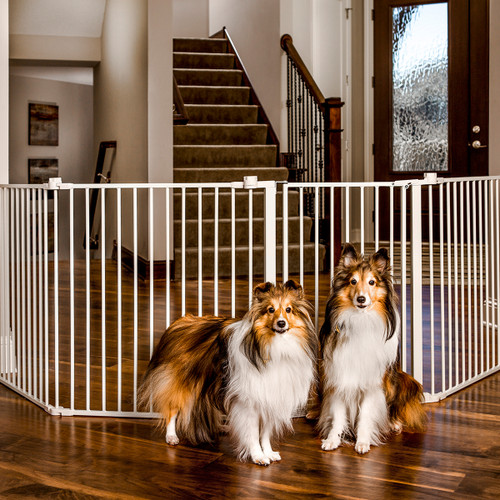 flexible wide pet gate