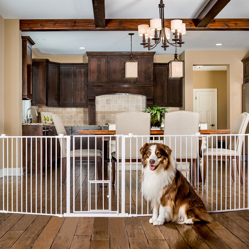 super wide pet gate