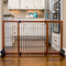 movable freestanding pet gate