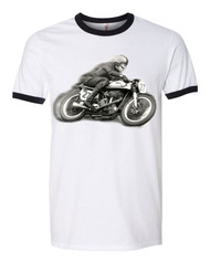norton motorcycle racer tee