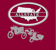 Allstate motorcycle shirt