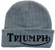 TRIUMPH knit hat (ash grey/black)