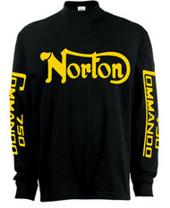 Norton 750 commando riding jersey