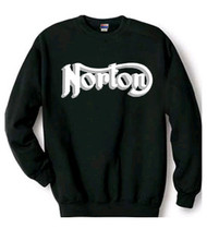 Norton sweatshirt (black/grey backdrop)