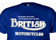 Triumph/BSA/Norton Motorcycle shirt
