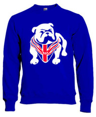 BSA sweatshirt (Bulldog/royal)