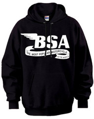 BSA motorcycle hooded sweatshirt (Most Pop)