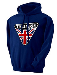 triumph motorcycle pullover hoodie