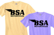BSA motorcycle tee shirt (pigment dyed)
