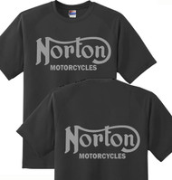 Norton Motorcycles tee (double sided)