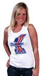 Triumph Number 1 ladies tank top
