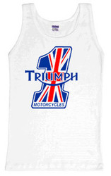 triumph number one tank top