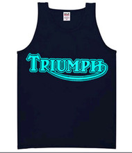 Triumph tank top (double blue)