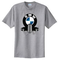 BMW tee shirt (heather)