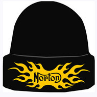 NORTON knit hat (flamed)