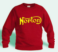 NORTON sweatshirt (red/gold)