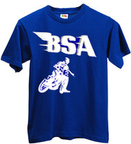 BSA flatracker tee shirt