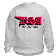 BSA sweatshirt (ash/old english style)