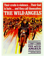 """Wild Angels"" movie poster shirt"