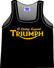 "TRIUMPH tank top (""Living Legend/nulogo"")"