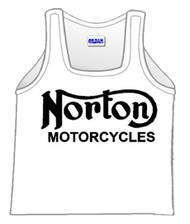 NORTON motorcycle tank top