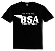 BSA tee (still plays with...)