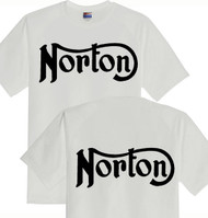 Norton tee shirt double sided