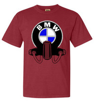 BMW tee shirt (chili pepper red)