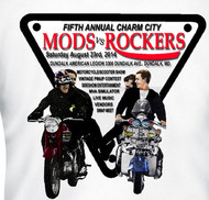 Mods Rockers 2014 tee shirt