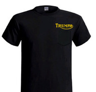 Triumph pocket tee