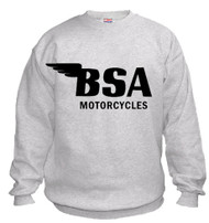 BSA sweatshirt (ash/black)