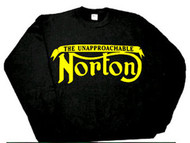 NORTON motorcycle sweatshirt (Unapp..)