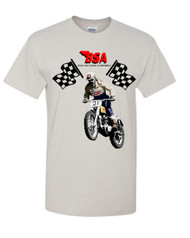 BSA motocross tee shirt