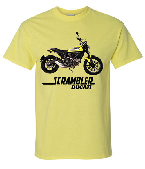 2015 ducati scrambler tee shirt teeshack. Black Bedroom Furniture Sets. Home Design Ideas