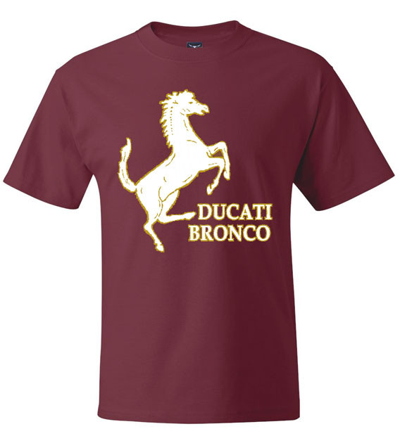 ducati bronco tee shirt teeshack. Black Bedroom Furniture Sets. Home Design Ideas