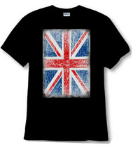 Union Jack distressed shirt